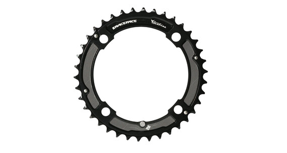 Race Face Turbine Chainring 120 BCD 2x10 schwarz